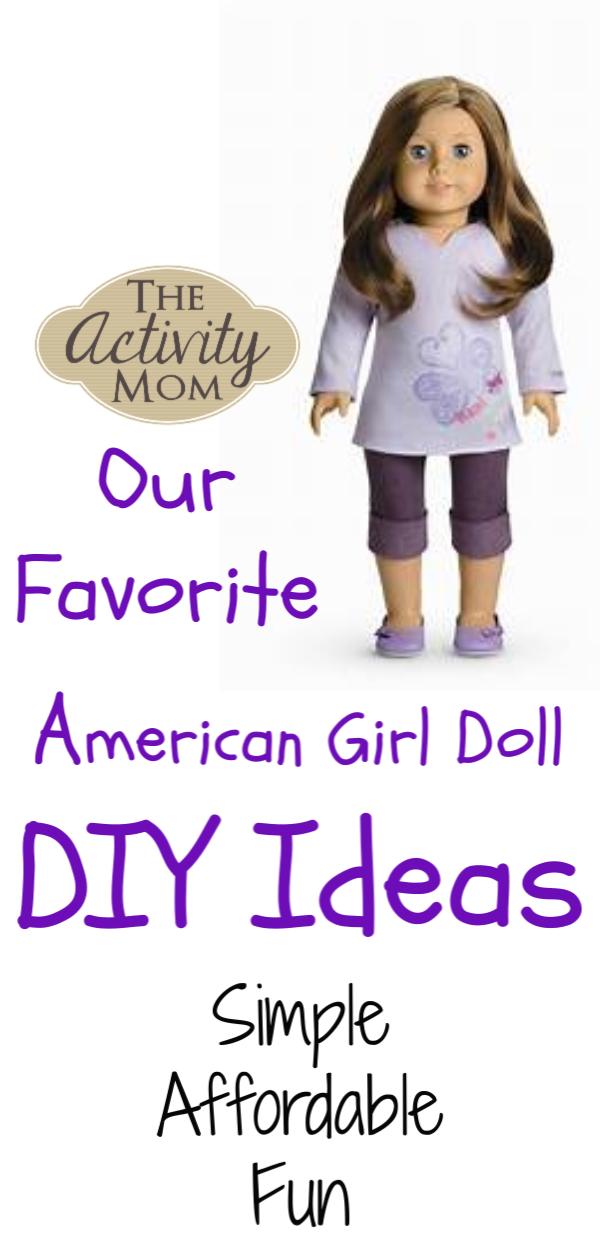 American Girl Doll DIY Ideas