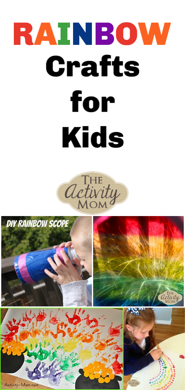 The Activity Mom Rainbow Crafts For Kids The Activity Mom