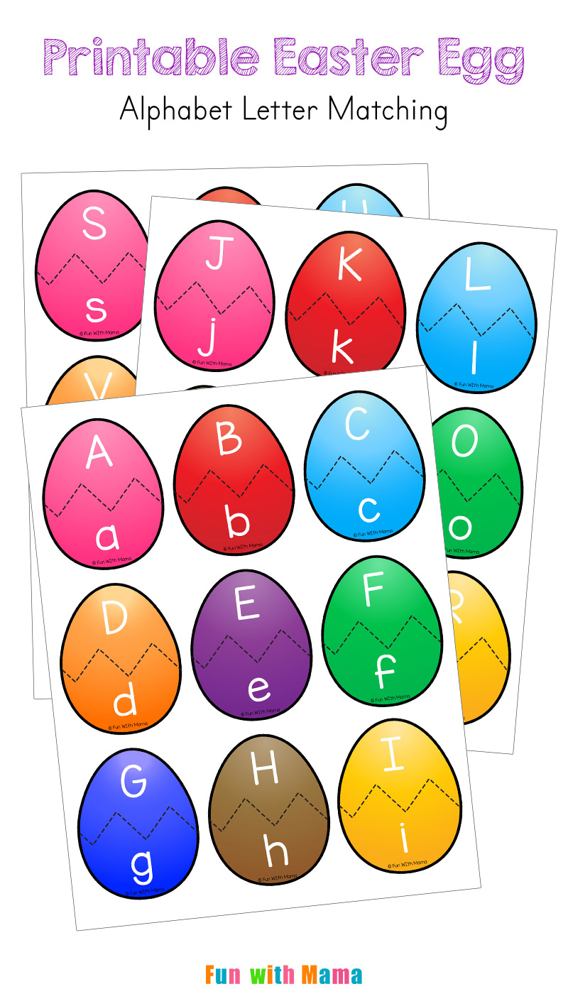 graphic about Letter Sound Games Printable identify The Match Mother - Easter Alphabet Routines - The Game Mother