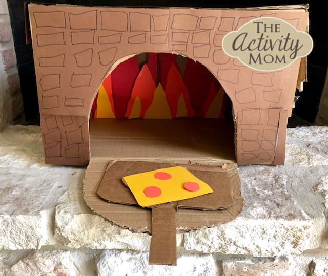 Make a Cardboard Box Pizza Oven