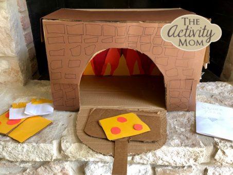 Make a Cardboard Box Pizza Oven