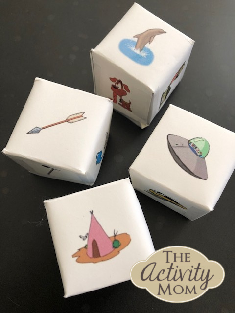Printable Story Cubes for Kids