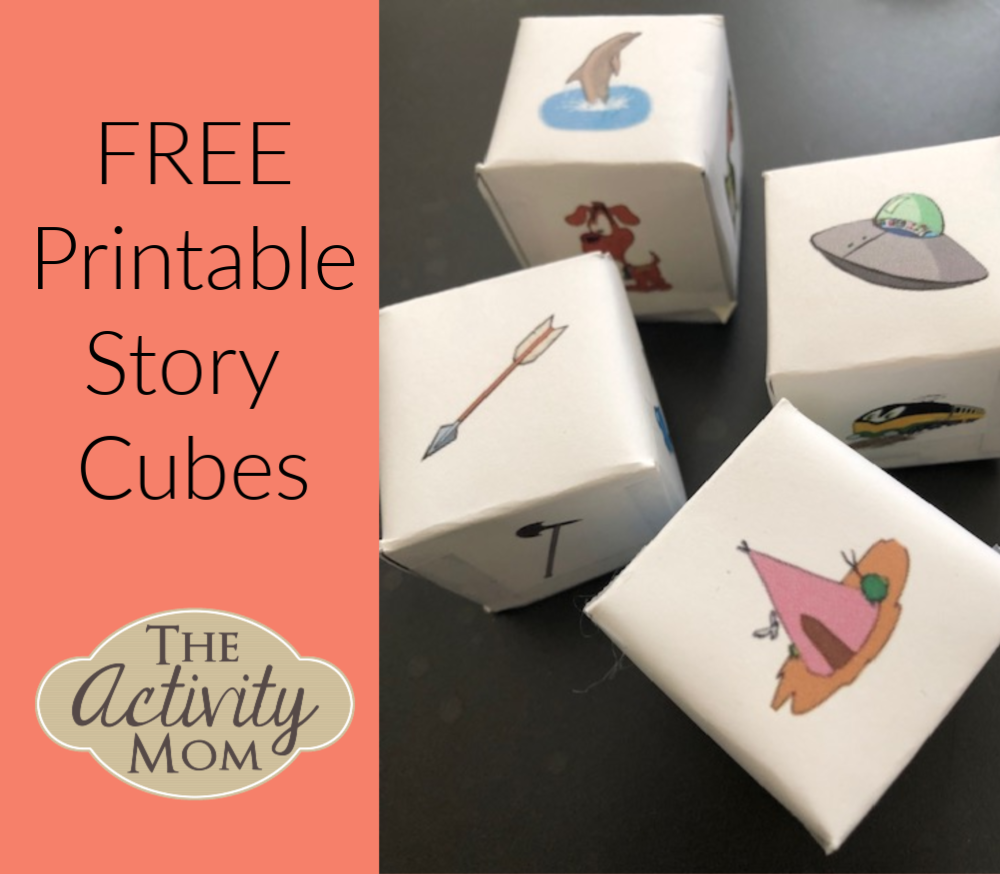 Free Printable Story Cubes