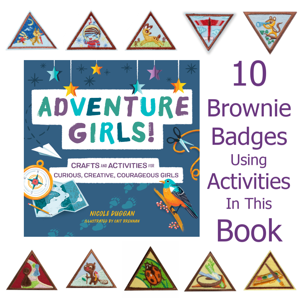 Adventure Girls Brownie Badges
