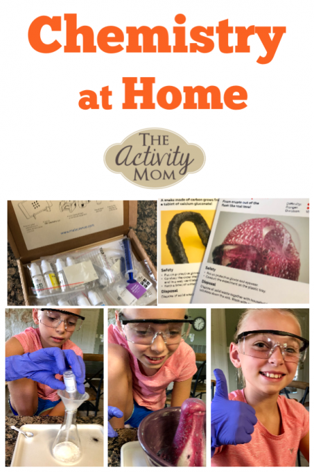 Chemistry at Home for Kids