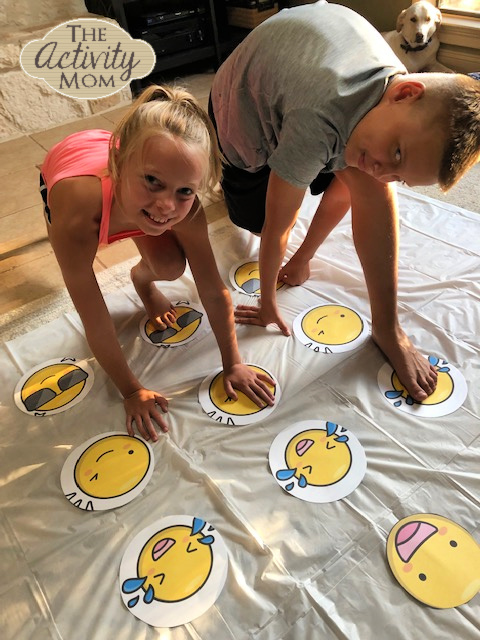 Emoji Twister Party GAme