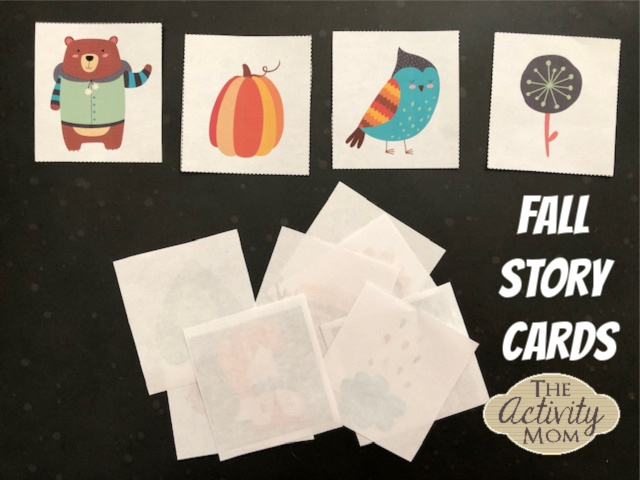 Fall Story Cards