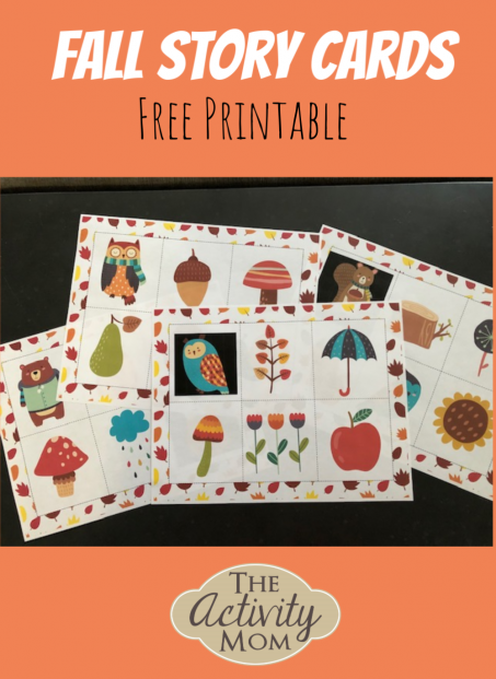 Fall Story Cards Free Printable