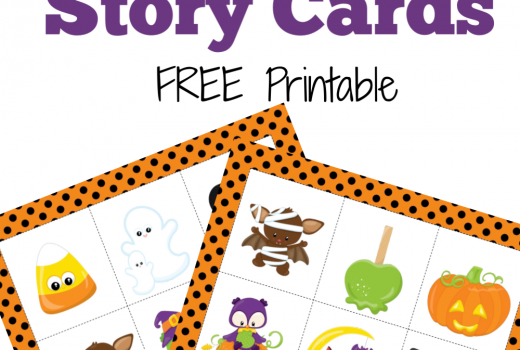 Free Printable Halloween Story Cards