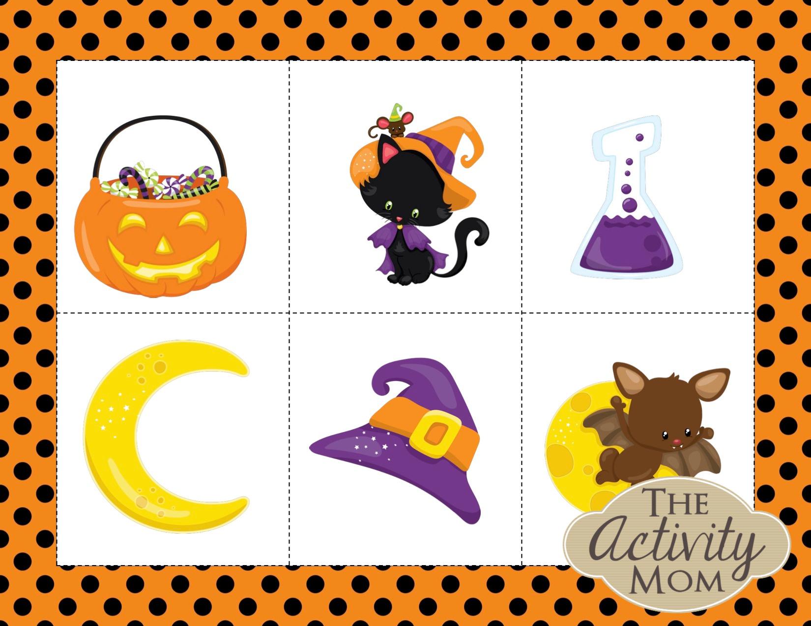 Halloween Story Cards Printable