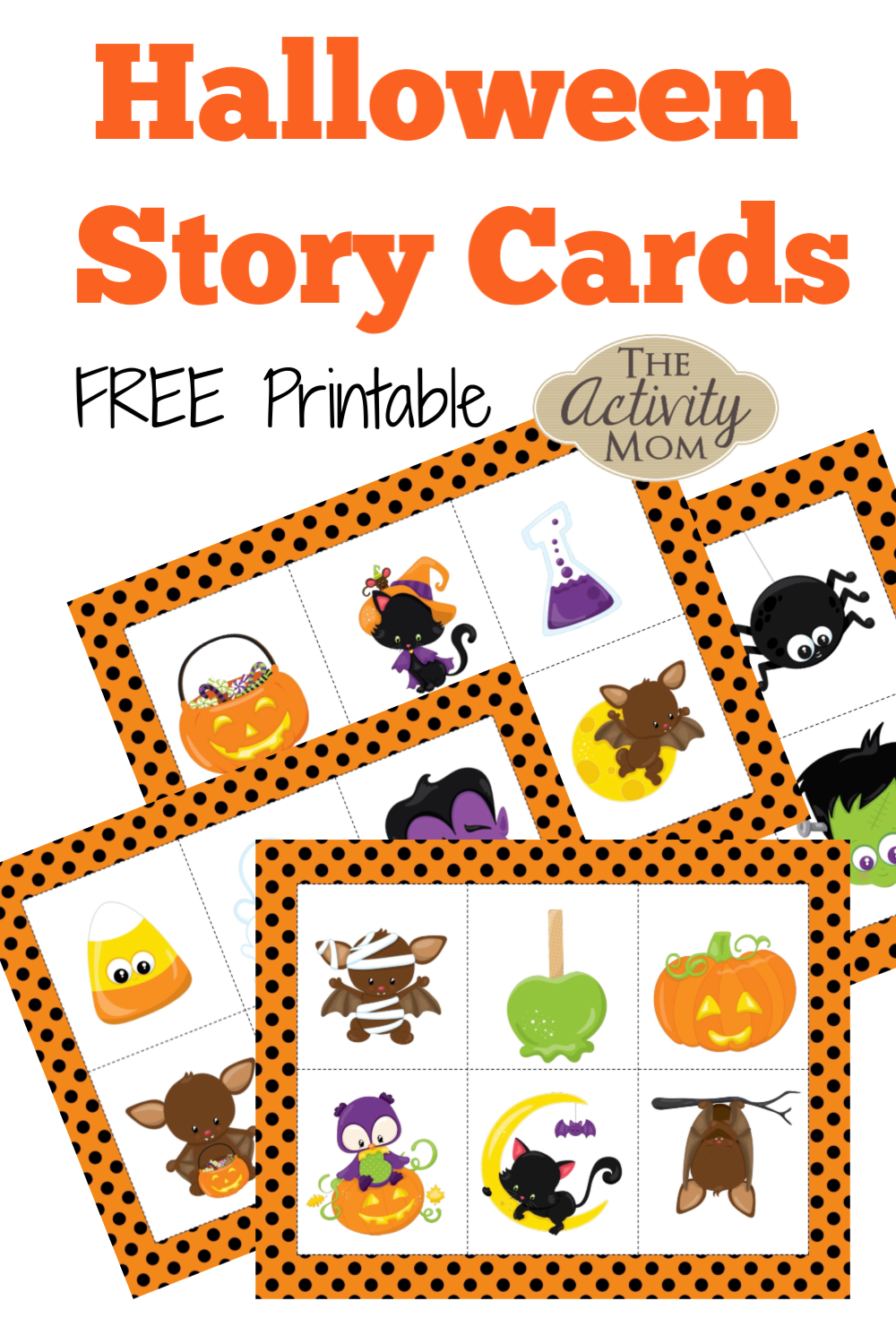 Halloween Story Cards