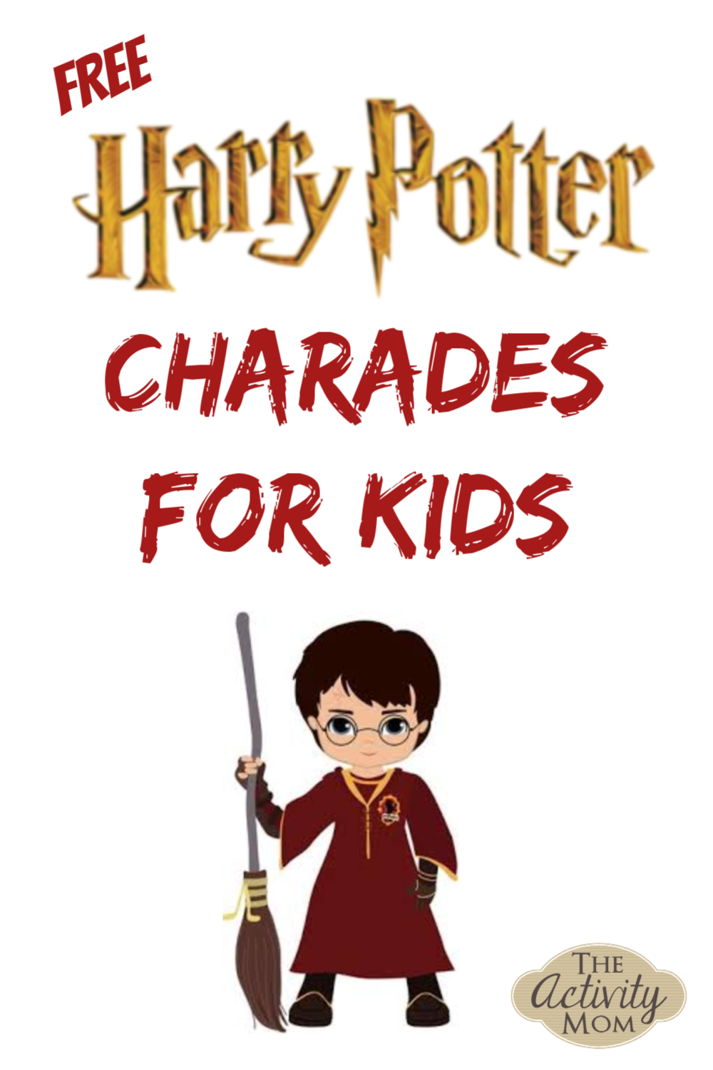 Harry Potter Charades for Kids