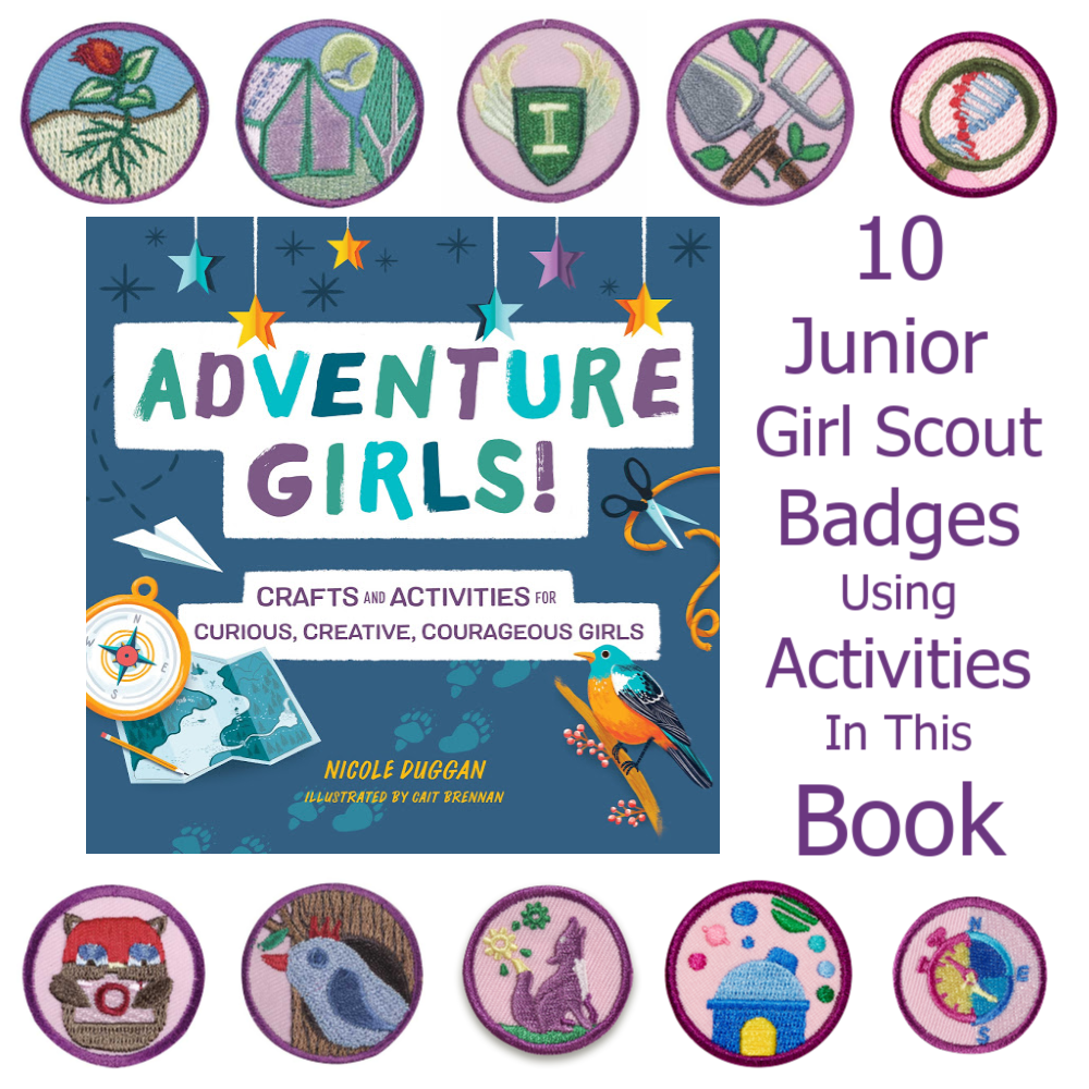 Adventure Girls Junior Girl Scout Badges