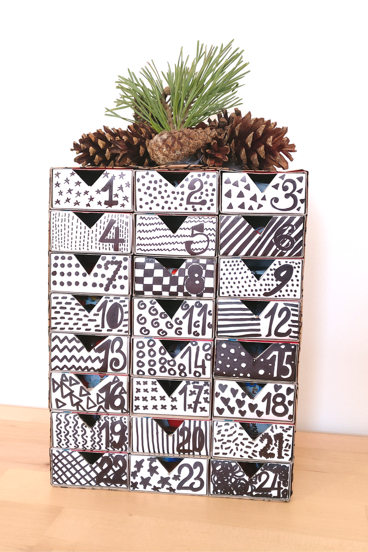 DIY Matchbox Advent Calendar