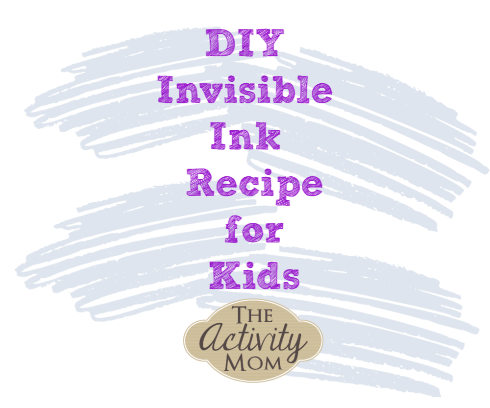 Invisible Ink Recipe for Kids