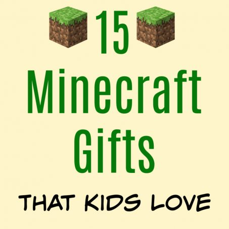 Minecraft Gift Ideas for Kids