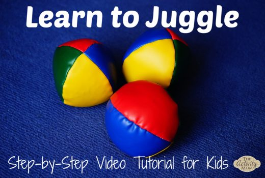 Learn to Juggle Video Tutorial for Kids