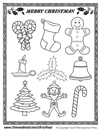 The Activity Mom Printable Christmas Ornaments For Kids The Activity Mom