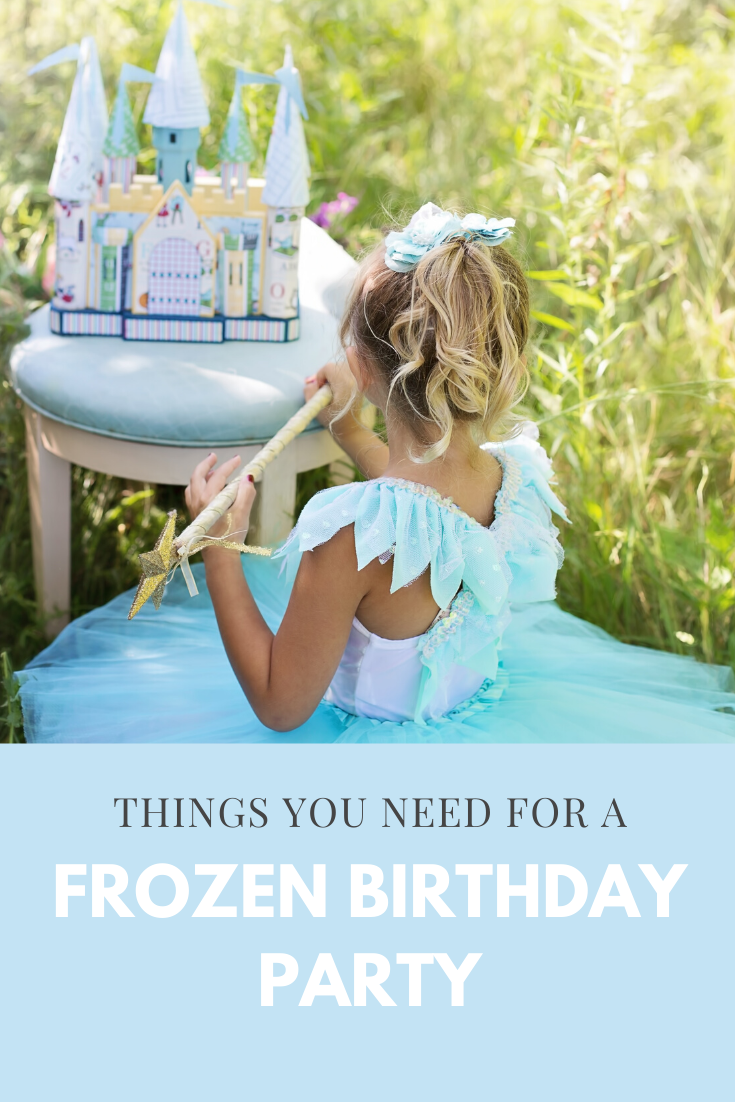 All you need for a Frozen Birthday Party
