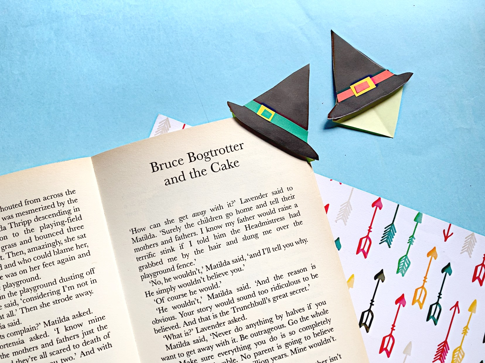 Witch's Hat Bookmark Craft