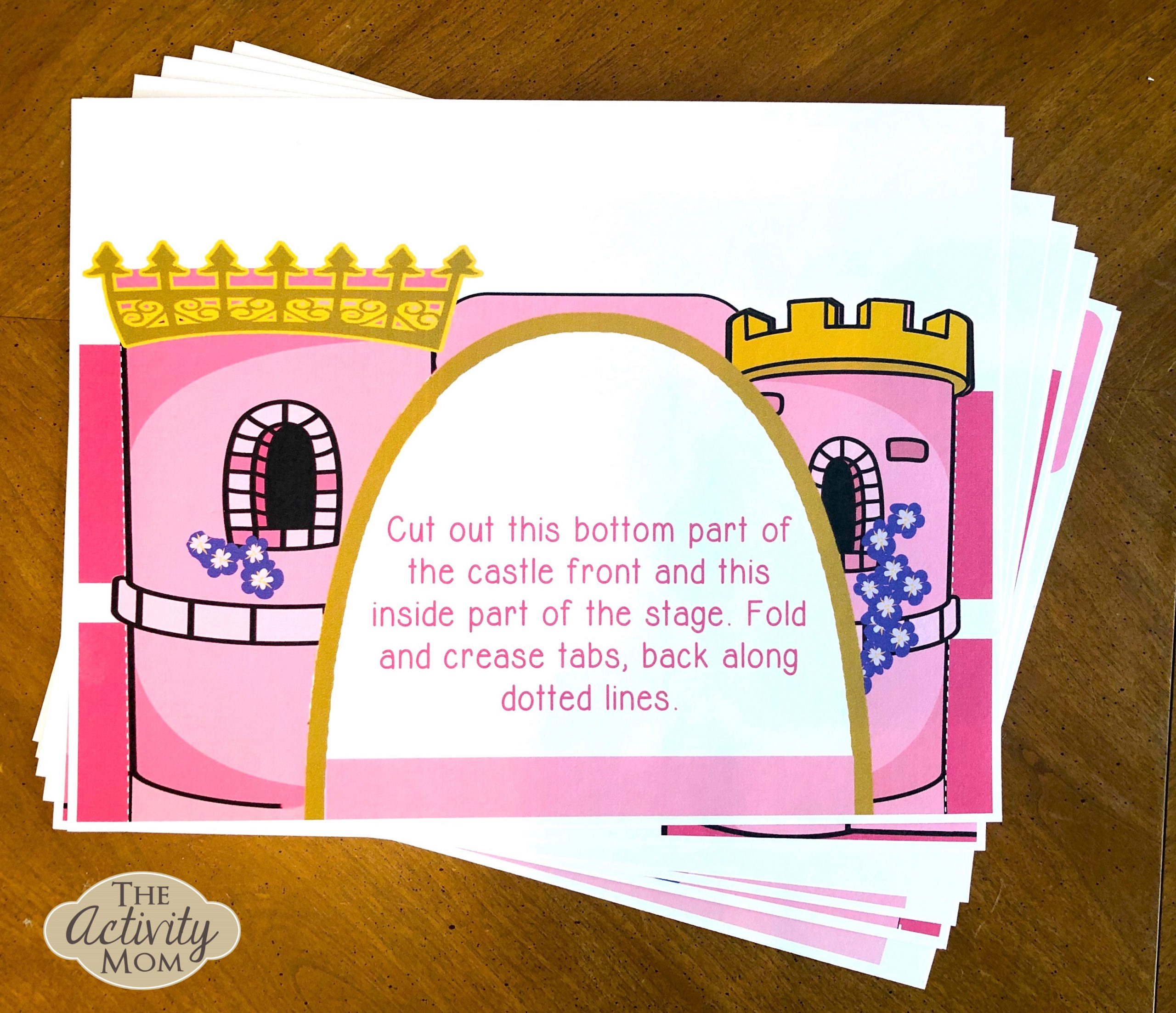 Step by Step Directions to Princess Puppet Theater