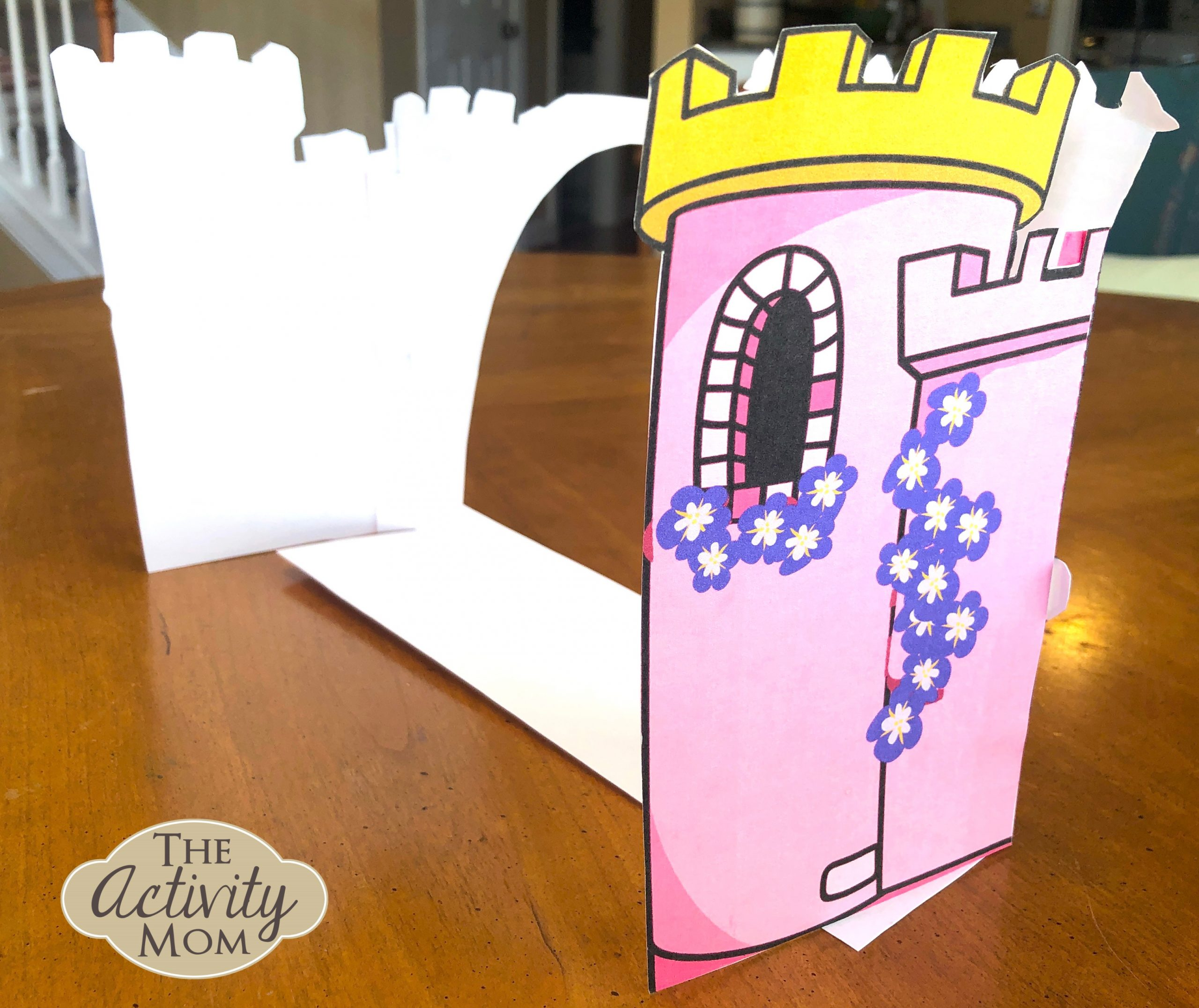 FREE Printable Princess Castle