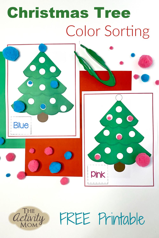 Christmas Tree Color Sorting