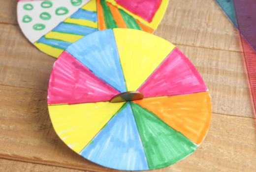 Penny Spinner Craft for Kids