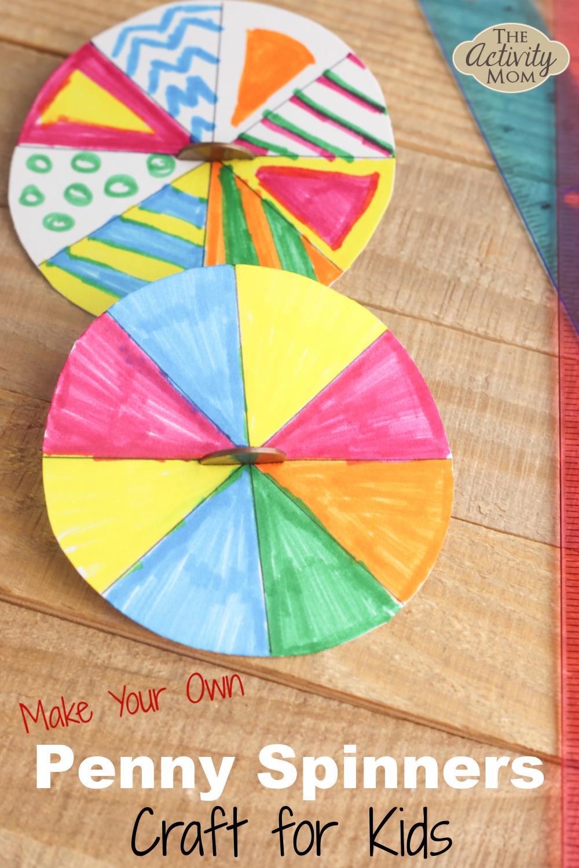 Spinner Craft for Kids