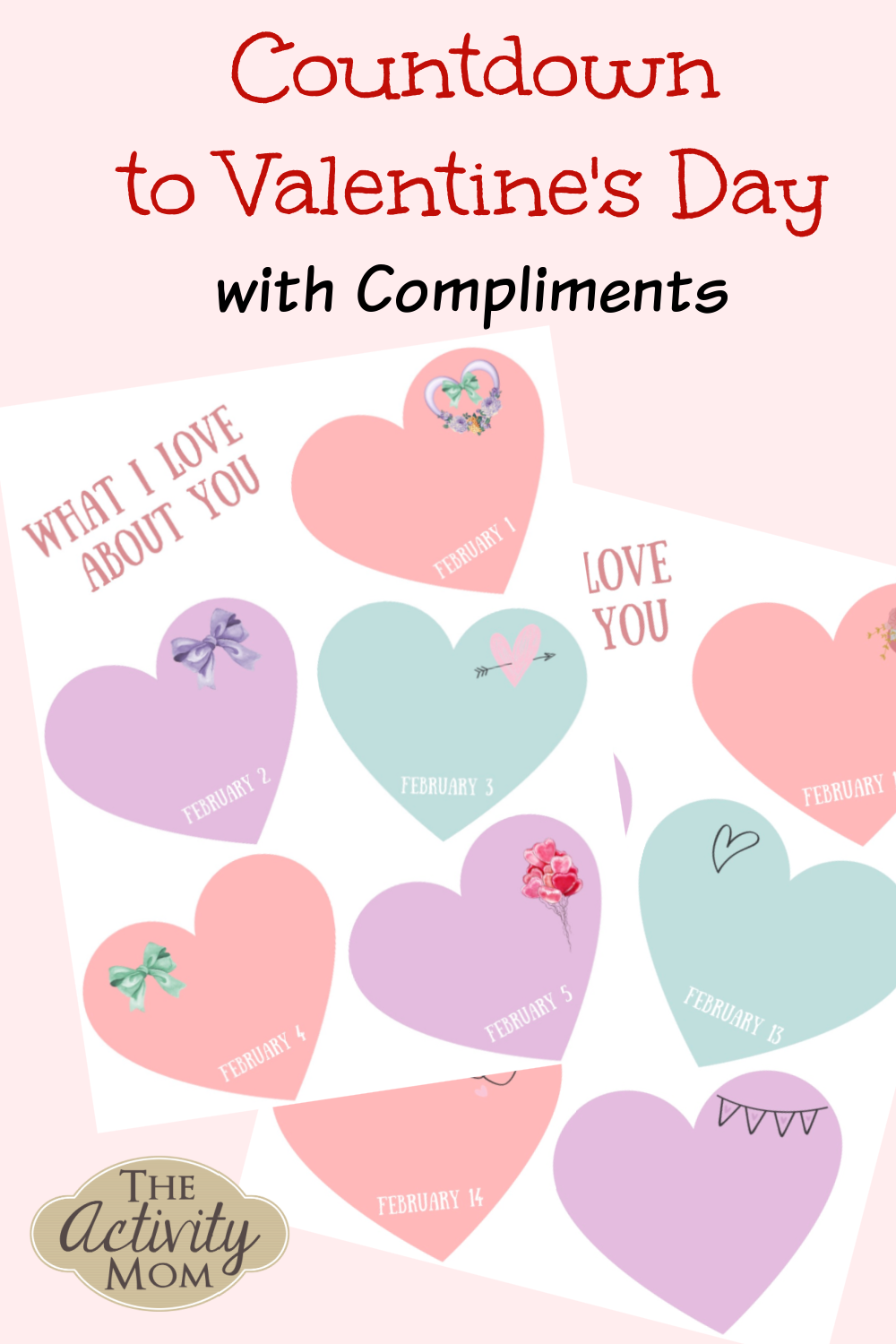 Countdown to Valentine's Day with Compliments