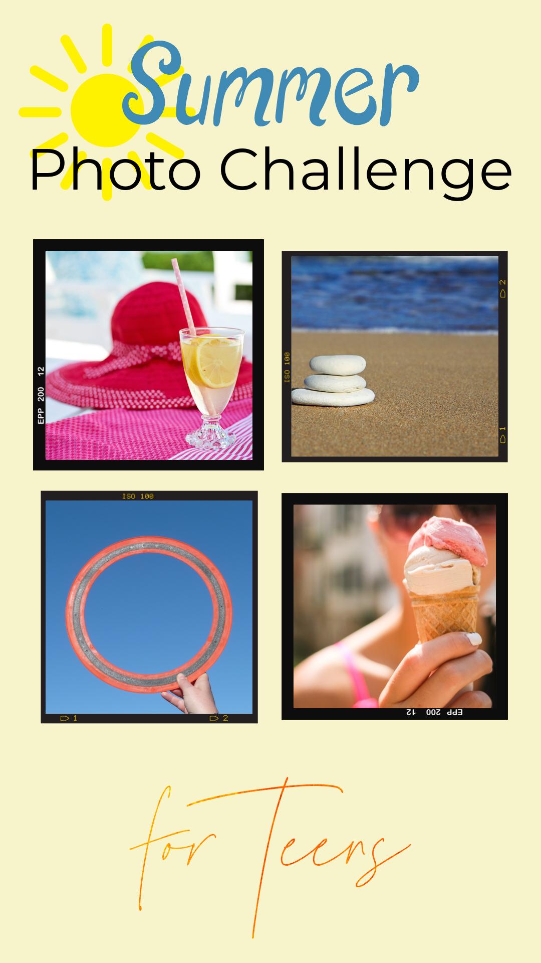Summer Photo Challenge for Teens
