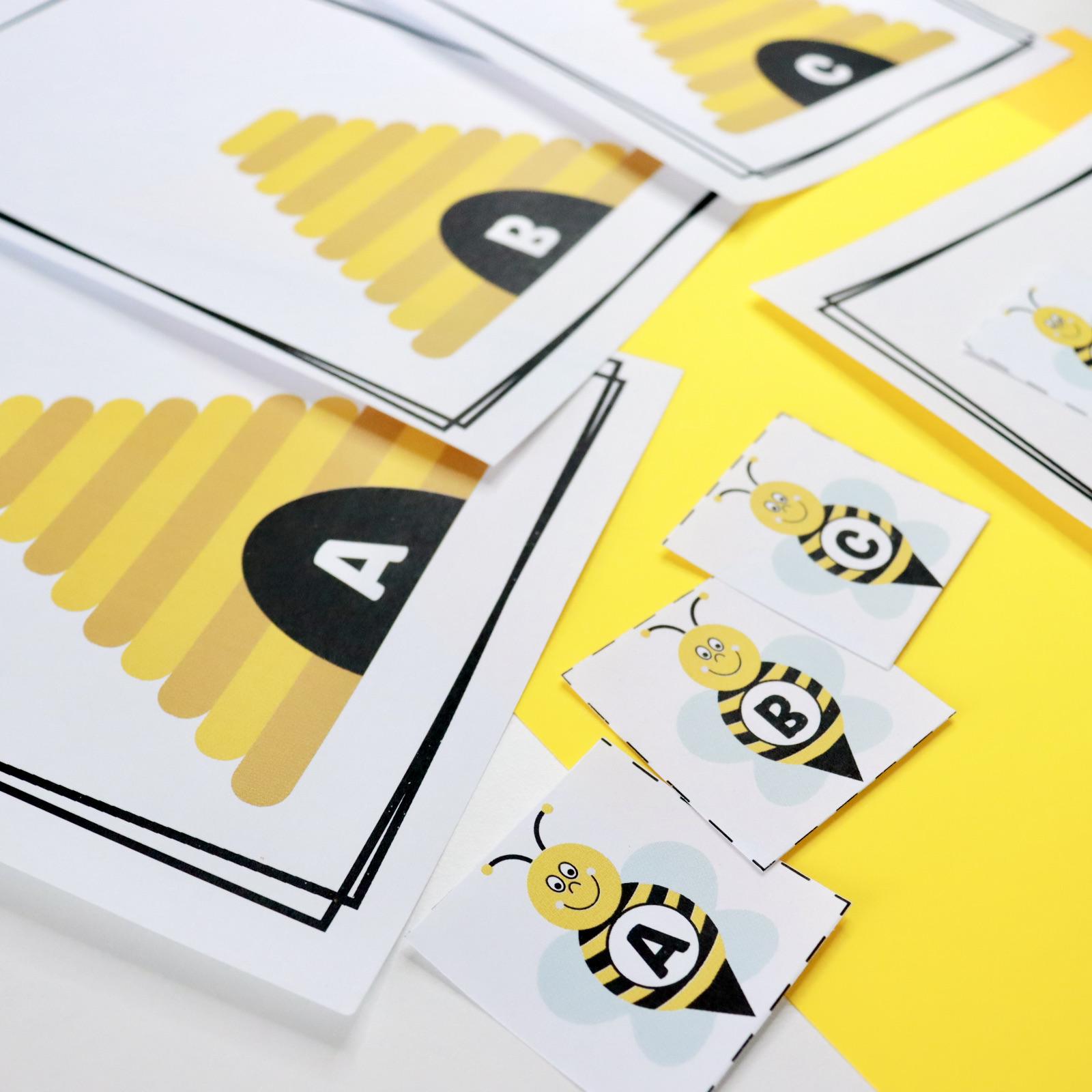 Bee Alphabet Sorting