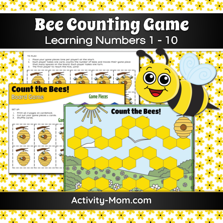 Bee Counting Game