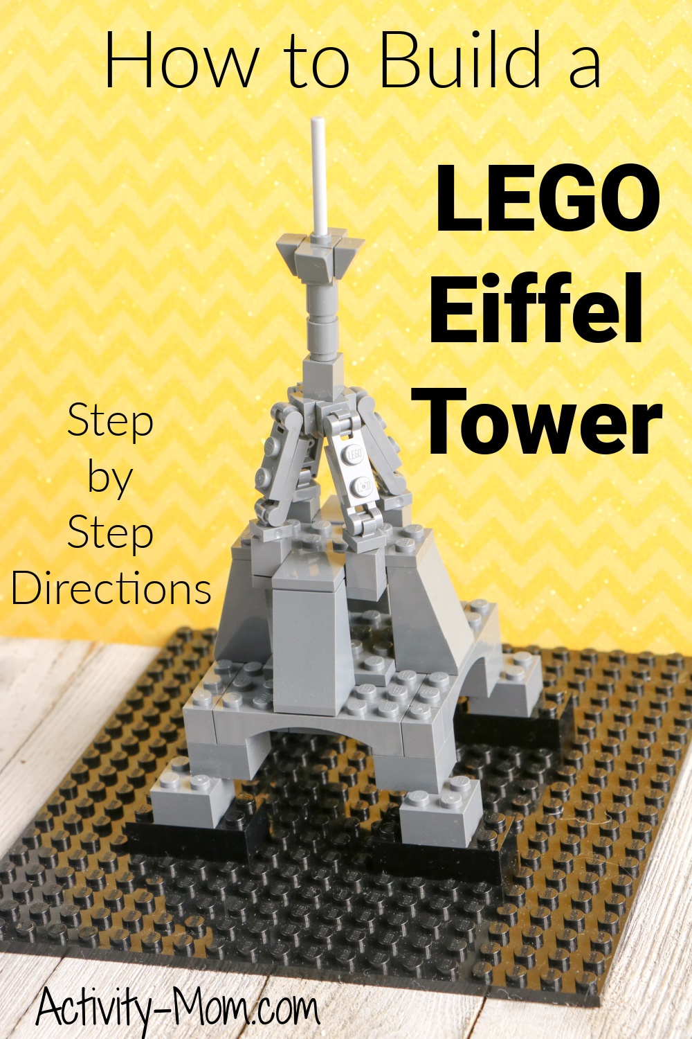 How to build a Lego Eiffel Tower