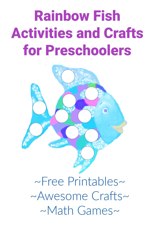 Rainbow Fish Activities for Preschoolers