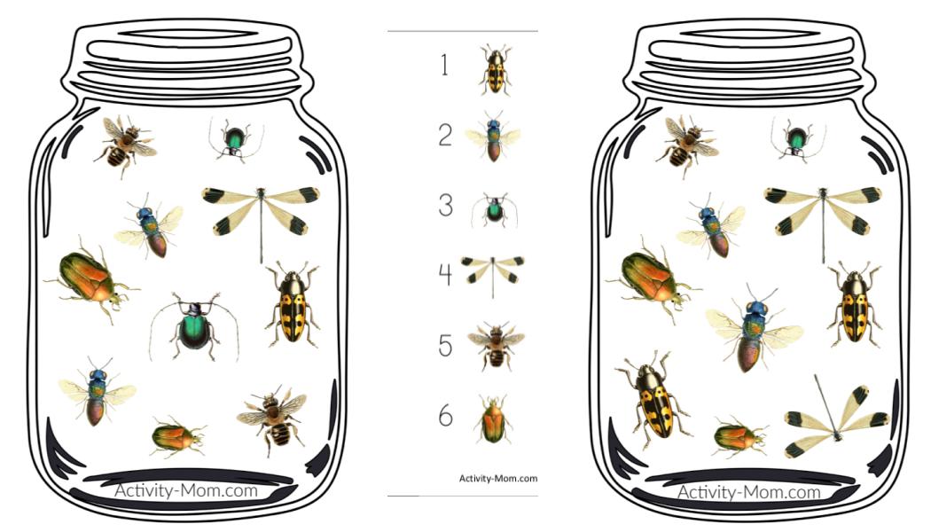Preschool Insect Theme Printables